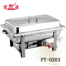 Ft- 0203 Hotel Ware Stainless Steel Buffet Stove