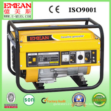 Small Portable Fashion Yellow Three or Single Phase Gaoline Generator