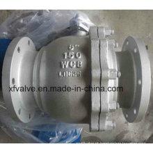 Válvula de esfera de aço carbono Wcb Lever