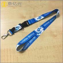 Blue badge holder with 3d printing lanyard