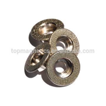 Electroplated diamond profiled wheels