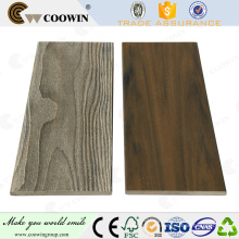 Kunststoff und Holzverbund Außenprägung Wandverkleidung