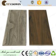 revestimiento exterior de paredes de material compuesto de plástico y madera