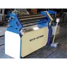 Máquina de dobra e rolamento de placas de aço W11f-1.5X1300