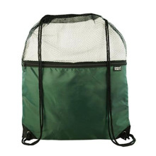 Mesh And Nylon Drawstring Backpack Popular