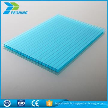 Les panneaux de toit de serre en polycarbonate haut de gamme en polycarbonate