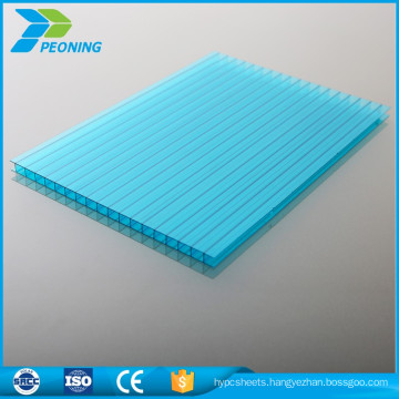 Clear transparent PC Polycarbonate Plastic Hollow Roofing Sheets