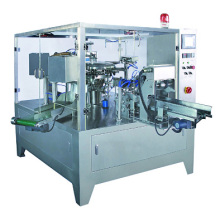 Rotary packing machine for solid product