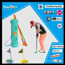 2015 new colorful plastic kids golf set toy