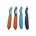 Carrot shape stainless steel peeler vegetable peeler