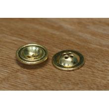 Bouton de chemise métallique promotionnel, bouton en métal pour les véritables