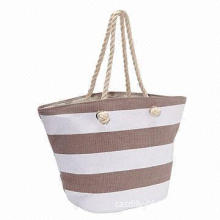 Beach Bag, Made of Paper Straw