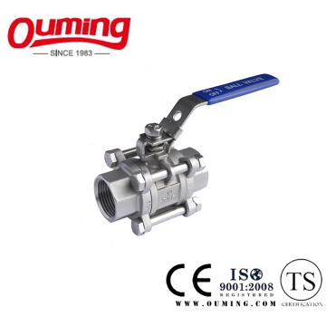 3PCS DIN M3 Ball Valve with Threaded End