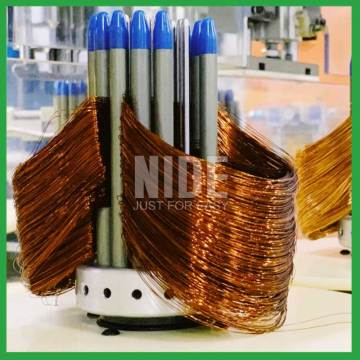 Automatic stator winder motor coil winding machine
