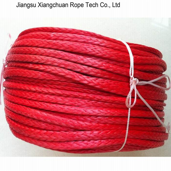Red UHMWPE Mooring Rope