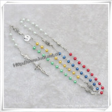 Glass Beads Rosary, Rosary Glass Beads, Cheap Glass Rosary (IO-cr331)