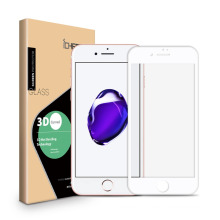 Hot!!!3D carbon fiber full cover tempered glass screen protector for iphone7