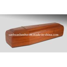 Ataúd de madera (IT-009)