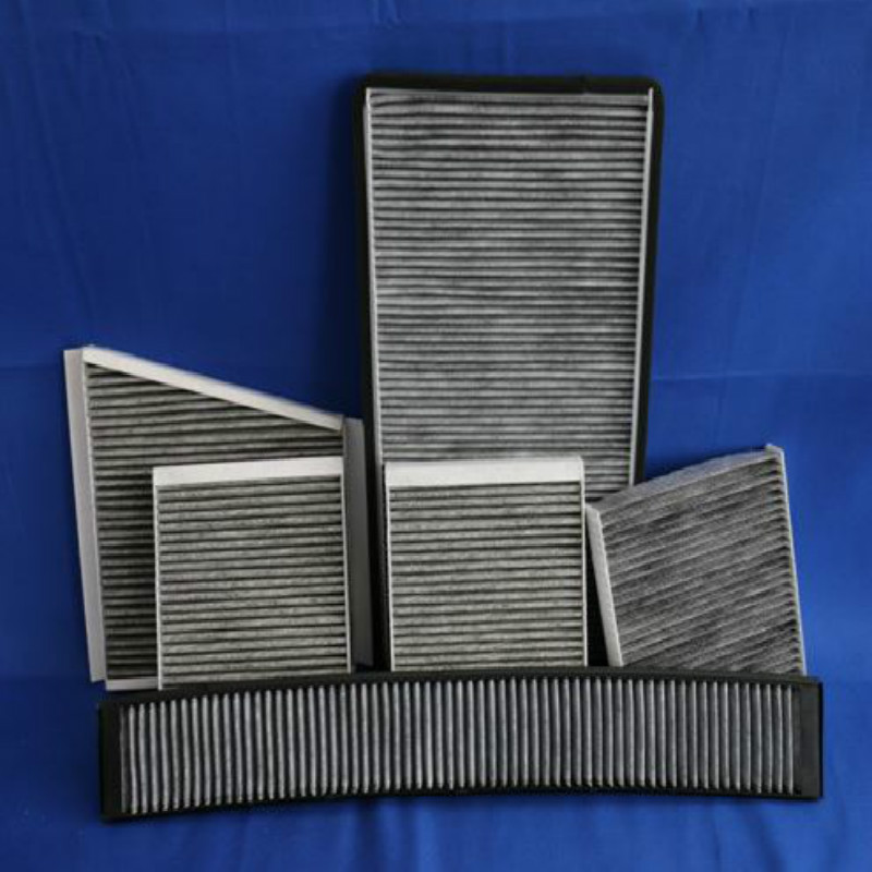 Non Woven Activated Carbon Filter Fiber Fabric