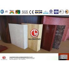 4D деревянная композитная облицовка для проекта