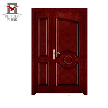 Corrosion main door design solid wood,entry solid wood door