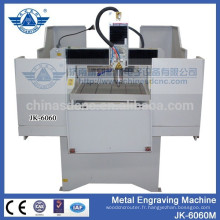 machine de gravure étiquette en métal de haute précision JK - 6060M avec moteur pas à pas
