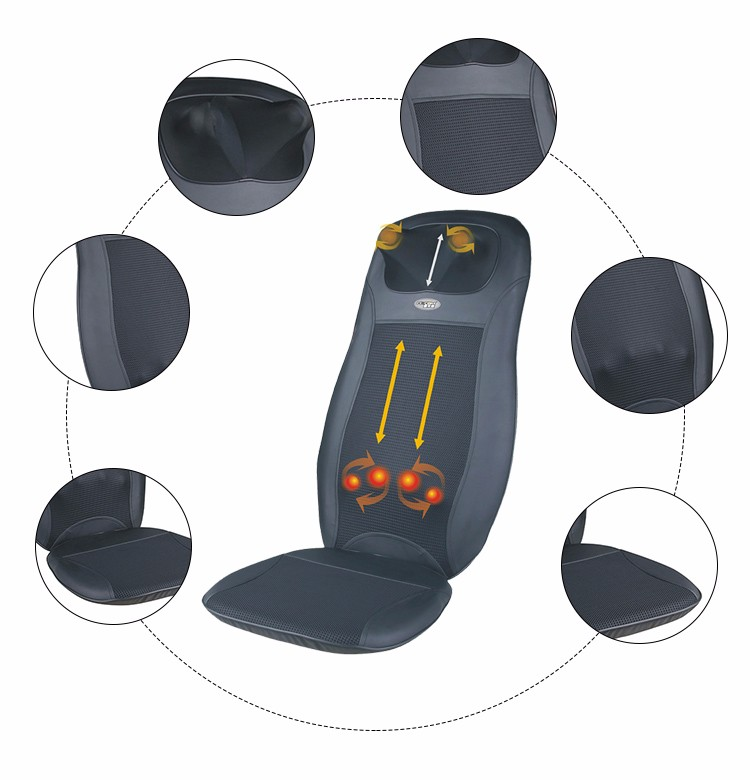 Car Foldable Shiatsu Massage Cushion