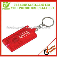 OEM Customized Led Reflective Keychain