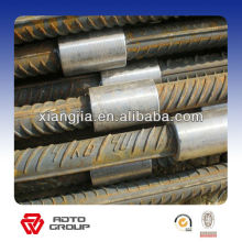 Coupleur de barres d'armature en acier au carbone # 45 / manchon pour le renforcement de l'acier
