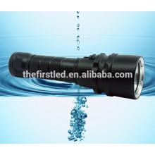 Boa qualidade cree xm-l2 LED super brilhante mergulho mergulho lanterna