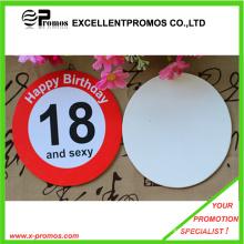 Coaster completo impreso del papel del logotipo (EP-PC55518)