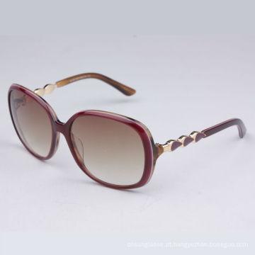 óculos de sol de tartaruga de acetato (B108 C02)