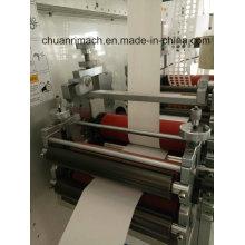 Non-Adhesive Label, folha de Metal, algodão, película de proteção, alta precisão, giratório cortando máquina de bolha