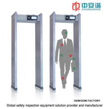 LCD Screen Waterproof Waterproof Door Frame Metal Detector with Mobile Remote