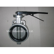 API Stainless Steel Wafer Butterfly Valve