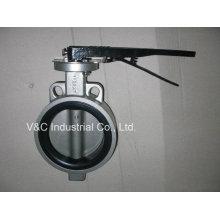 API Válvula Borboleta de Aço Inox