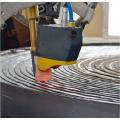 Сварочный робот со спиральным пластинчатым теплообменником