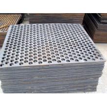 Q345 Perforierten Metall Siebgewebe