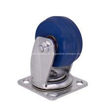 Roue en caoutchouc industrielle résistante de roue de noyau de fer