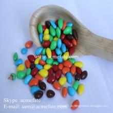 Atacado fornecedor de chocolate sorvete revestido de chocolate com sementes