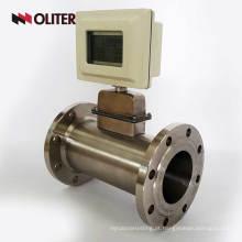 sensor de medidor de fluxo de ar de gás alimentado por bateria com display LED