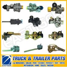 Más de 100 piezas de camiones para la válvula de nivelación