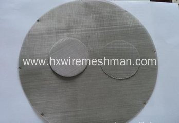 Stainless Steel Filter Pack Screen