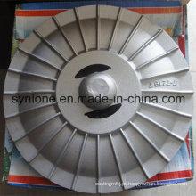 China Cobertura de alumínio de fundição de fabricação de metal