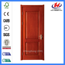 *JHK-017 Solid Wood Kitchen Doors Flush Wood Door Mahogany Wood Doors