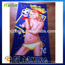 100% microfiber sexy women printed expanding towel for beach