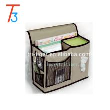 Gearbox Bedside Caddy bed pocket organizer 6 Pocket Bedside Storage Mattress Book Remote Caddy