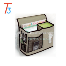 Gearbox Bedside Caddy bed pocket organizer  6 Pocket Bedside Storage Mattress Book Remote Caddy