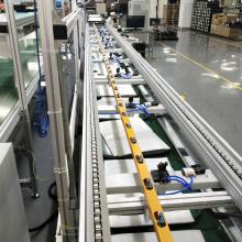 Convoyeur à chaînes de vitesse pour automatisation en acier inoxydable