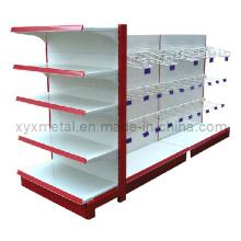 Promoção Steel Frame Supermarket Hanging Goods Display Shelving Rarks